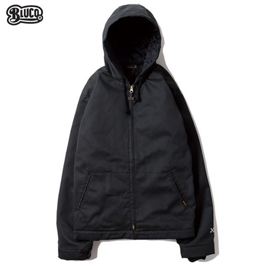 BL-030 Hoodie Work Jacket Black<img class='new_mark_img2' src='https://img.shop-pro.jp/img/new/icons50.gif' style='border:none;display:inline;margin:0px;padding:0px;width:auto;' />
