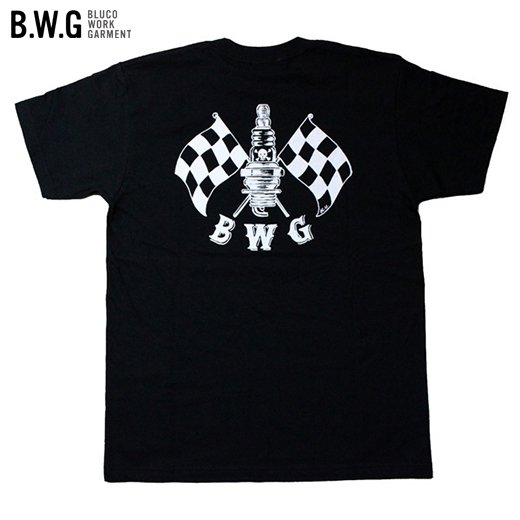 BWG-027 Checker Spark T-Shirt<img class='new_mark_img2' src='https://img.shop-pro.jp/img/new/icons50.gif' style='border:none;display:inline;margin:0px;padding:0px;width:auto;' />