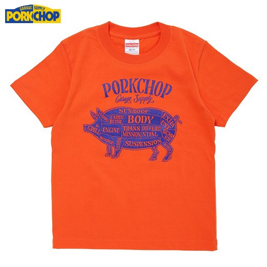 PC-110 Pork Front Tee for Kids<img class='new_mark_img2' src='//img.shop-pro.jp/img/new/icons7.gif' style='border:none;display:inline;margin:0px;padding:0px;width:auto;' />