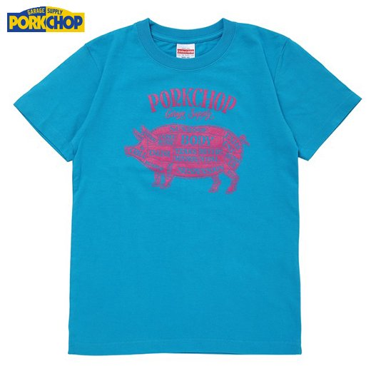 PC-111 Pork Front Tee for Kids<img class='new_mark_img2' src='//img.shop-pro.jp/img/new/icons7.gif' style='border:none;display:inline;margin:0px;padding:0px;width:auto;' />