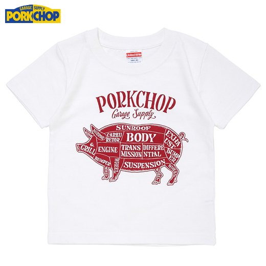 PC-112 Pork Front Tee for Kids<img class='new_mark_img2' src='//img.shop-pro.jp/img/new/icons7.gif' style='border:none;display:inline;margin:0px;padding:0px;width:auto;' />