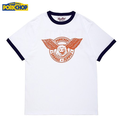 PC-115 Wing Pork Ringer Tee<img class='new_mark_img2' src='https://img.shop-pro.jp/img/new/icons50.gif' style='border:none;display:inline;margin:0px;padding:0px;width:auto;' />