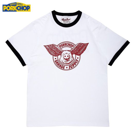 PC-116 Wing Pork Ringer Tee<img class='new_mark_img2' src='//img.shop-pro.jp/img/new/icons50.gif' style='border:none;display:inline;margin:0px;padding:0px;width:auto;' />