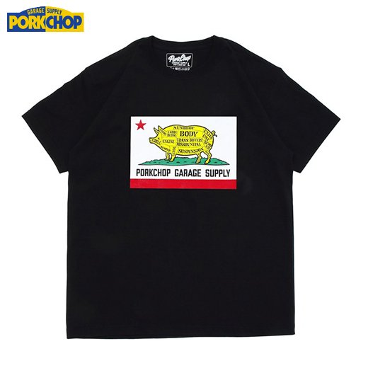 PC-122 Pork Calif Tee<img class='new_mark_img2' src='//img.shop-pro.jp/img/new/icons50.gif' style='border:none;display:inline;margin:0px;padding:0px;width:auto;' />