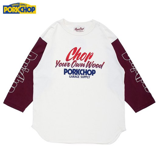 PC-124 Chop Your Own Wood Baseball Tee<img class='new_mark_img2' src='https://img.shop-pro.jp/img/new/icons50.gif' style='border:none;display:inline;margin:0px;padding:0px;width:auto;' />