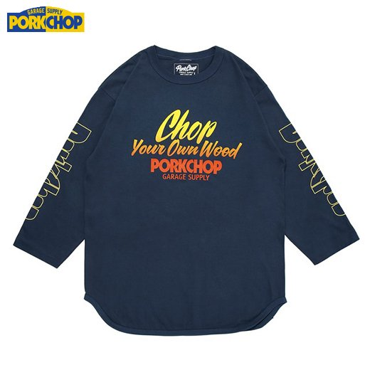 PC-126 Chop Your Own Wood Baseball Tee<img class='new_mark_img2' src='//img.shop-pro.jp/img/new/icons50.gif' style='border:none;display:inline;margin:0px;padding:0px;width:auto;' />
