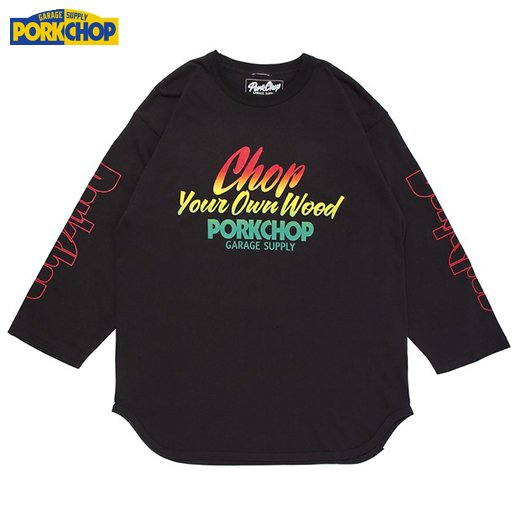 PC-127 Chop Your Own Wood Baseball Tee<img class='new_mark_img2' src='//img.shop-pro.jp/img/new/icons50.gif' style='border:none;display:inline;margin:0px;padding:0px;width:auto;' />