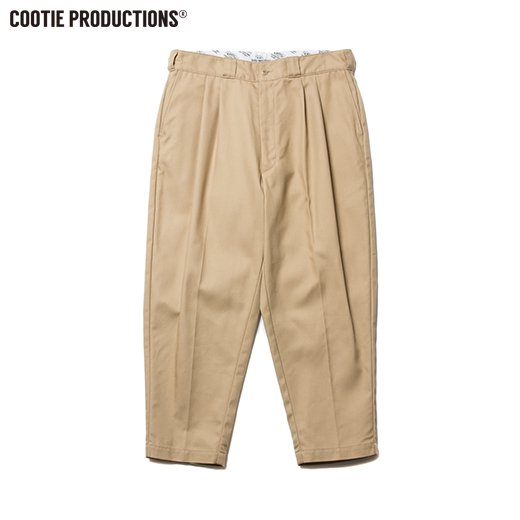 CT-526 T/C Serge 2 Tuck Trousers<img class='new_mark_img2' src='//img.shop-pro.jp/img/new/icons50.gif' style='border:none;display:inline;margin:0px;padding:0px;width:auto;' />