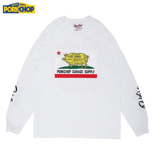PC-133 Pork Calif L/S Tee<img class='new_mark_img2' src='//img.shop-pro.jp/img/new/icons50.gif' style='border:none;display:inline;margin:0px;padding:0px;width:auto;' />
