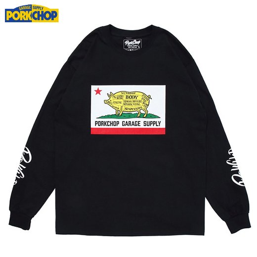 PC-134 Pork Calif L/S Tee<img class='new_mark_img2' src='https://img.shop-pro.jp/img/new/icons50.gif' style='border:none;display:inline;margin:0px;padding:0px;width:auto;' />