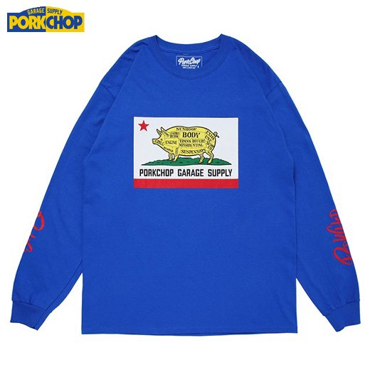 PC-135 Pork Calif L/S Tee<img class='new_mark_img2' src='//img.shop-pro.jp/img/new/icons50.gif' style='border:none;display:inline;margin:0px;padding:0px;width:auto;' />