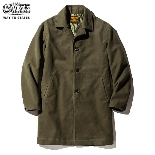 CL-454 Cotton Fleece Long Coat<img class='new_mark_img2' src='https://img.shop-pro.jp/img/new/icons6.gif' style='border:none;display:inline;margin:0px;padding:0px;width:auto;' />