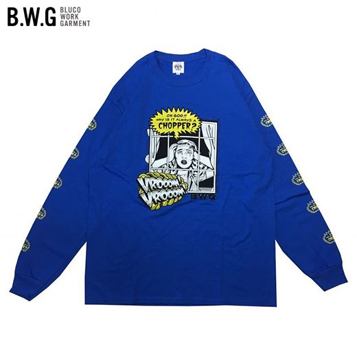 BWG-043 CHOPPER/ L/S Tシャツ<img class='new_mark_img2' src='//img.shop-pro.jp/img/new/icons7.gif' style='border:none;display:inline;margin:0px;padding:0px;width:auto;' />