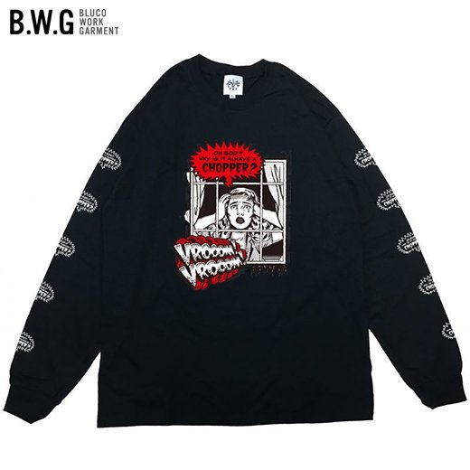 BWG-044 CHOPPER/ L/S Tシャツ<img class='new_mark_img2' src='https://img.shop-pro.jp/img/new/icons50.gif' style='border:none;display:inline;margin:0px;padding:0px;width:auto;' />