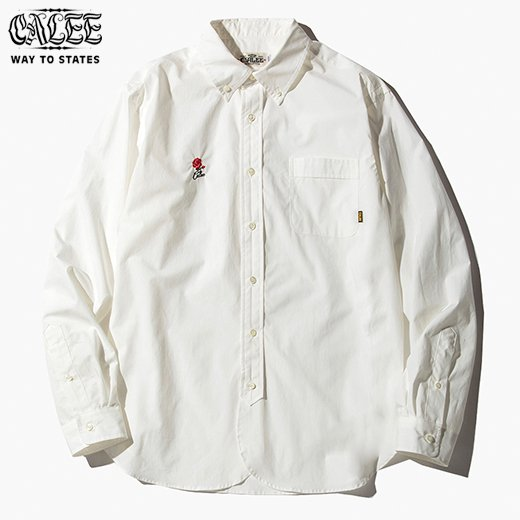 CALEE Typewriter L/S B,D shirt<img class='new_mark_img2' src='https://img.shop-pro.jp/img/new/icons6.gif' style='border:none;display:inline;margin:0px;padding:0px;width:auto;' />