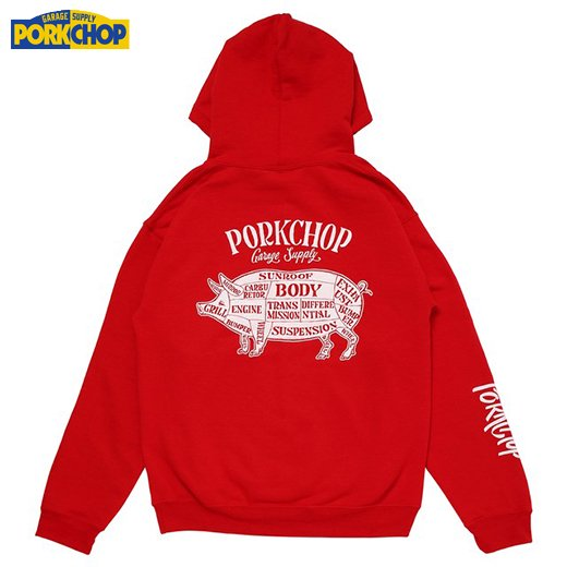 PC-142 Pork Back Hoodie<img class='new_mark_img2' src='https://img.shop-pro.jp/img/new/icons50.gif' style='border:none;display:inline;margin:0px;padding:0px;width:auto;' />