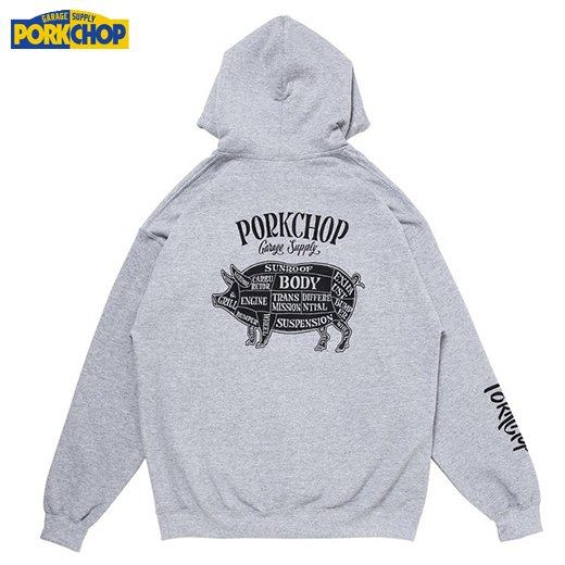 PC-143 Pork Back Hoodie<img class='new_mark_img2' src='https://img.shop-pro.jp/img/new/icons50.gif' style='border:none;display:inline;margin:0px;padding:0px;width:auto;' />