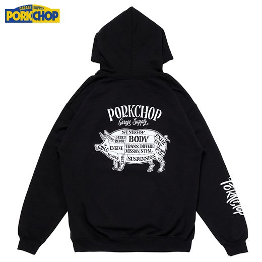 PC-144 Pork Back Hoodie<img class='new_mark_img2' src='https://img.shop-pro.jp/img/new/icons50.gif' style='border:none;display:inline;margin:0px;padding:0px;width:auto;' />