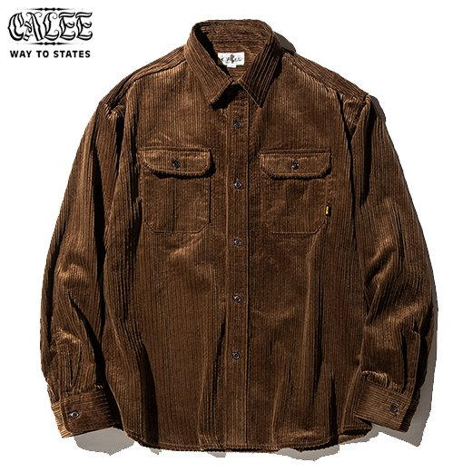 CL-467 L/S Corduroy Plane Shirt<img class='new_mark_img2' src='https://img.shop-pro.jp/img/new/icons50.gif' style='border:none;display:inline;margin:0px;padding:0px;width:auto;' />