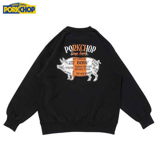 PC-156 Pork Back Sweat<img class='new_mark_img2' src='https://img.shop-pro.jp/img/new/icons50.gif' style='border:none;display:inline;margin:0px;padding:0px;width:auto;' />