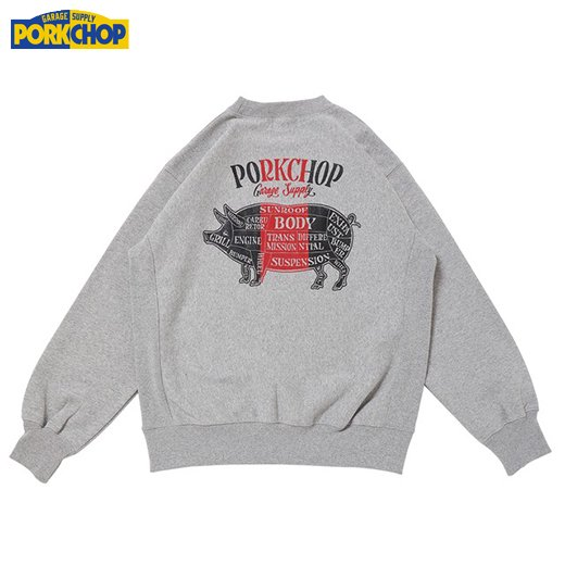 PC-157 Pork Back Sweat<img class='new_mark_img2' src='//img.shop-pro.jp/img/new/icons50.gif' style='border:none;display:inline;margin:0px;padding:0px;width:auto;' />
