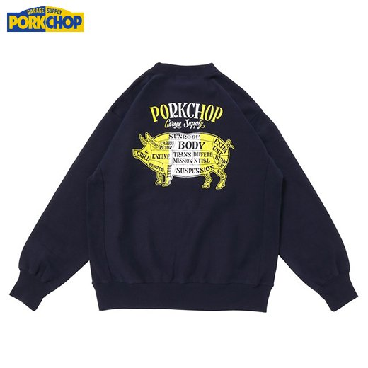 PC-158 Pork Back Sweat<img class='new_mark_img2' src='https://img.shop-pro.jp/img/new/icons50.gif' style='border:none;display:inline;margin:0px;padding:0px;width:auto;' />