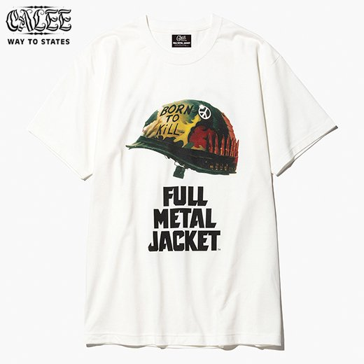 CALEE Full  Metal Jacket Collaborate S/S T-Shirt<img class='new_mark_img2' src='//img.shop-pro.jp/img/new/icons6.gif' style='border:none;display:inline;margin:0px;padding:0px;width:auto;' />