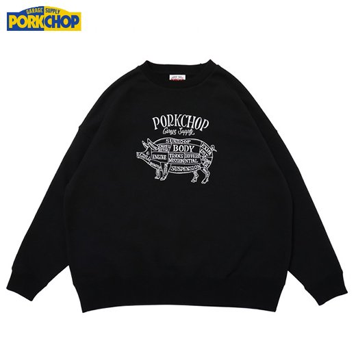 PC-171 Pork Front Stitch Sweat<img class='new_mark_img2' src='https://img.shop-pro.jp/img/new/icons50.gif' style='border:none;display:inline;margin:0px;padding:0px;width:auto;' />
