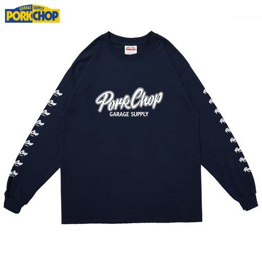 PC-173 Script Logo L/S Tee<img class='new_mark_img2' src='https://img.shop-pro.jp/img/new/icons50.gif' style='border:none;display:inline;margin:0px;padding:0px;width:auto;' />