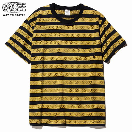 CL-507 Jacquard border S/S t-shirt<img class='new_mark_img2' src='https://img.shop-pro.jp/img/new/icons50.gif' style='border:none;display:inline;margin:0px;padding:0px;width:auto;' />