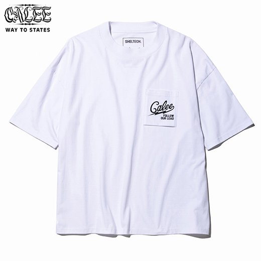 CL-511 Calee×SHELTECH Drop Shoulder Pocket T-shirt<img class='new_mark_img2' src='https://img.shop-pro.jp/img/new/icons50.gif' style='border:none;display:inline;margin:0px;padding:0px;width:auto;' />