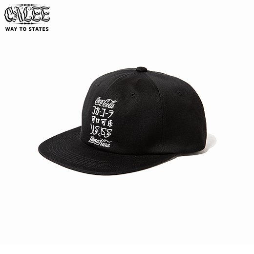 CALEE COCA-COLA collaboration international logo cap<img class='new_mark_img2' src='https://img.shop-pro.jp/img/new/icons6.gif' style='border:none;display:inline;margin:0px;padding:0px;width:auto;' />