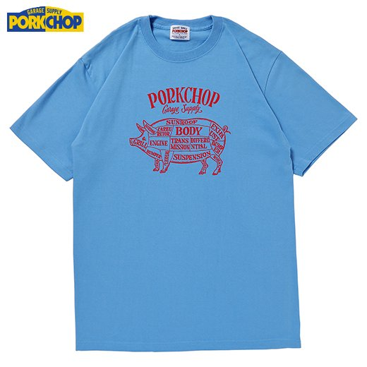 PC-196 Pork Front S/S Tee<img class='new_mark_img2' src='//img.shop-pro.jp/img/new/icons50.gif' style='border:none;display:inline;margin:0px;padding:0px;width:auto;' />