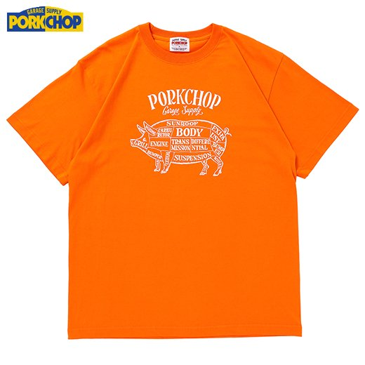 PC-197 Pork Front S/S Tee<img class='new_mark_img2' src='https://img.shop-pro.jp/img/new/icons50.gif' style='border:none;display:inline;margin:0px;padding:0px;width:auto;' />