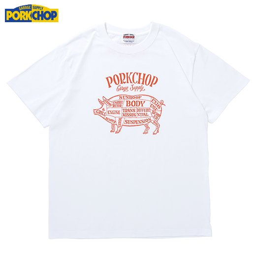 PC-199 Pork Front S/S Tee<img class='new_mark_img2' src='https://img.shop-pro.jp/img/new/icons50.gif' style='border:none;display:inline;margin:0px;padding:0px;width:auto;' />