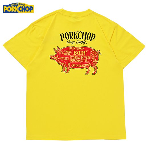 PC-202 Pork Back S/S Tee<img class='new_mark_img2' src='//img.shop-pro.jp/img/new/icons50.gif' style='border:none;display:inline;margin:0px;padding:0px;width:auto;' />