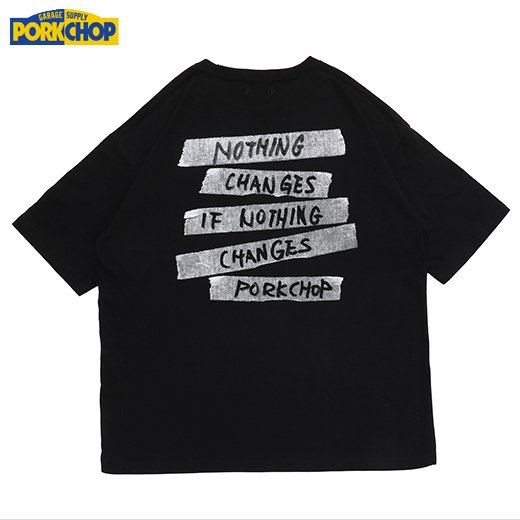 PC-209 Nothing Changes Tee<img class='new_mark_img2' src='https://img.shop-pro.jp/img/new/icons50.gif' style='border:none;display:inline;margin:0px;padding:0px;width:auto;' />