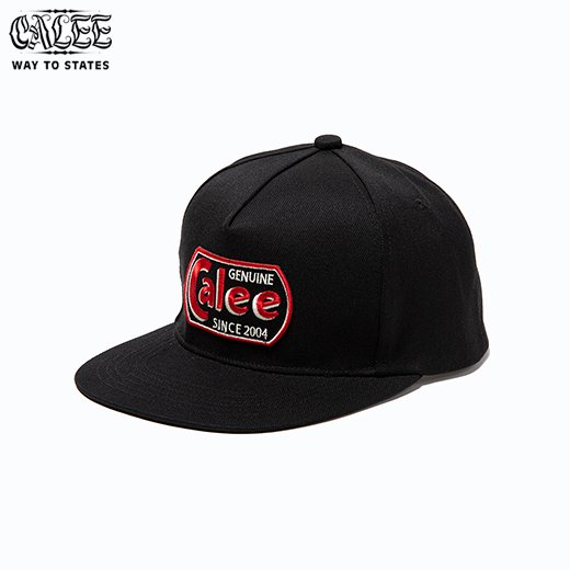 CALEE T/C Twill Logo Wappen Cap<img class='new_mark_img2' src='https://img.shop-pro.jp/img/new/icons50.gif' style='border:none;display:inline;margin:0px;padding:0px;width:auto;' />