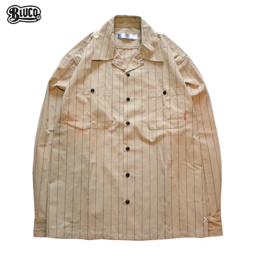 BL-053 Standard Work Shirt L/S<img class='new_mark_img2' src='//img.shop-pro.jp/img/new/icons50.gif' style='border:none;display:inline;margin:0px;padding:0px;width:auto;' />