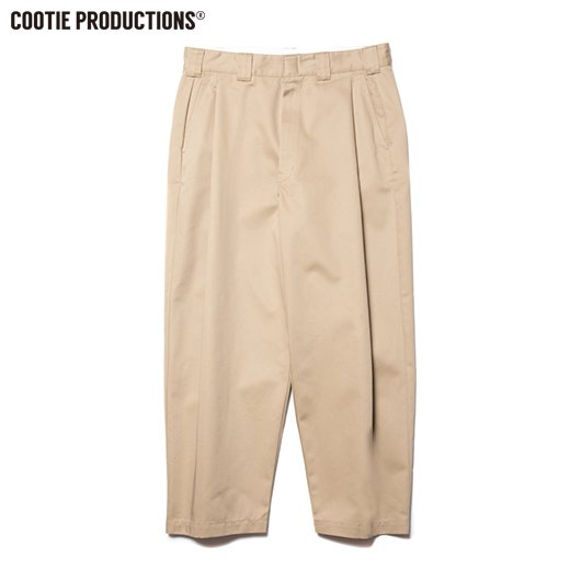 COOTIE T/C Raza 1 Tuck Trousers