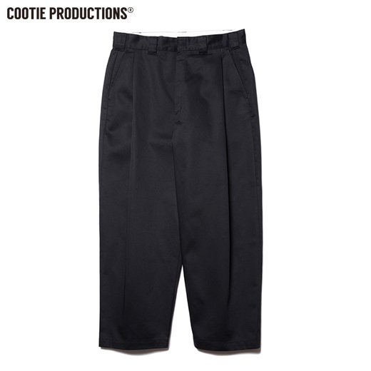 COOTIE T/C Raza 1 Tuck Trousers  <img class='new_mark_img2' src='https://img.shop-pro.jp/img/new/icons50.gif' style='border:none;display:inline;margin:0px;padding:0px;width:auto;' />
