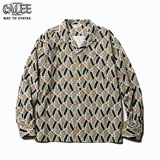 CL-531 Allover Paisley Pattern L/S Shirt<img class='new_mark_img2' src='https://img.shop-pro.jp/img/new/icons50.gif' style='border:none;display:inline;margin:0px;padding:0px;width:auto;' />