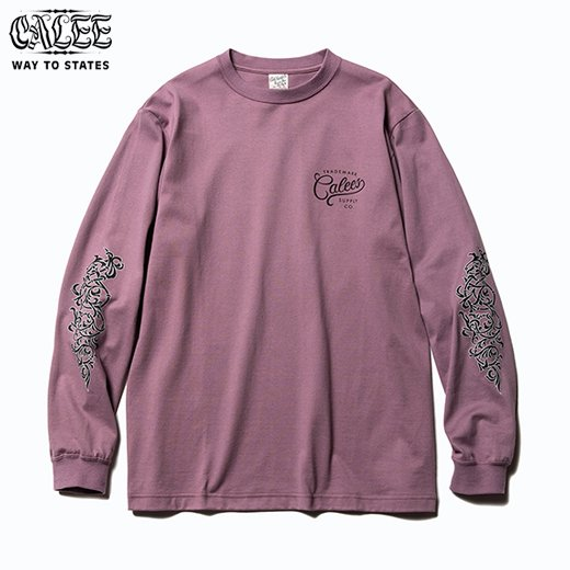 CALEE Foliage Scroll L/S T-Shirt<img class='new_mark_img2' src='https://img.shop-pro.jp/img/new/icons50.gif' style='border:none;display:inline;margin:0px;padding:0px;width:auto;' />
