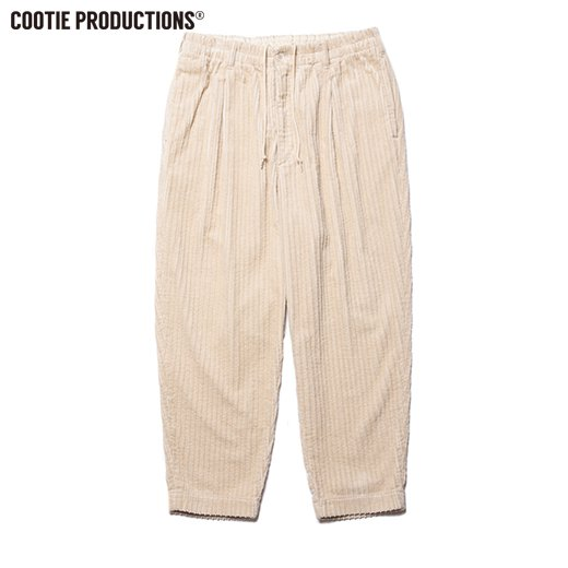 COOTIE Random Corduroy 1 Tuck Easy Pants