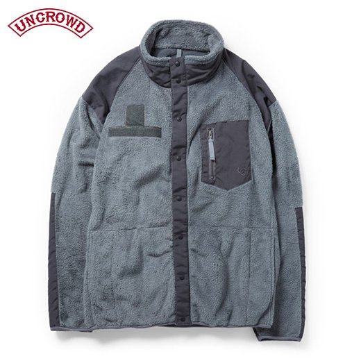 UNCROWD Military Fleece<img class='new_mark_img2' src='https://img.shop-pro.jp/img/new/icons50.gif' style='border:none;display:inline;margin:0px;padding:0px;width:auto;' />