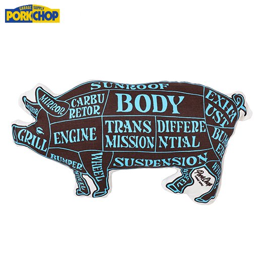 PORKCHOP Pork Cushion<img class='new_mark_img2' src='https://img.shop-pro.jp/img/new/icons7.gif' style='border:none;display:inline;margin:0px;padding:0px;width:auto;' />