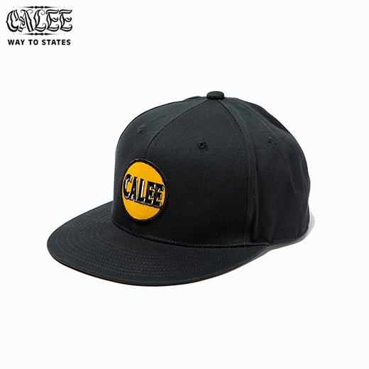 CALEE Cotton twill wappen cap<img class='new_mark_img2' src='https://img.shop-pro.jp/img/new/icons50.gif' style='border:none;display:inline;margin:0px;padding:0px;width:auto;' />