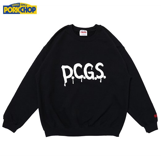 PORKCHOP DRIPPING PCGS SWEAT<img class='new_mark_img2' src='https://img.shop-pro.jp/img/new/icons50.gif' style='border:none;display:inline;margin:0px;padding:0px;width:auto;' />