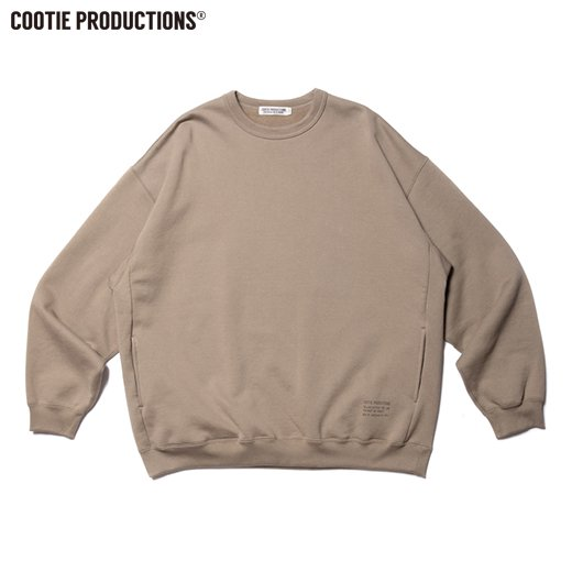 COOTIE Compact Yarn Crewneck Sweatshirt