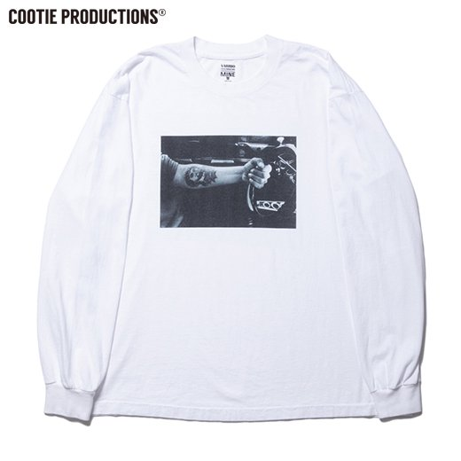COOTIE Print L/S Tee (JESUS)